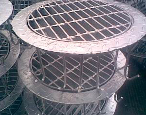 Galvanized Well Cover